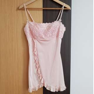 Size L Baby Pink Lingerie