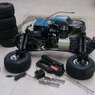 hpi savage xl rc nitro