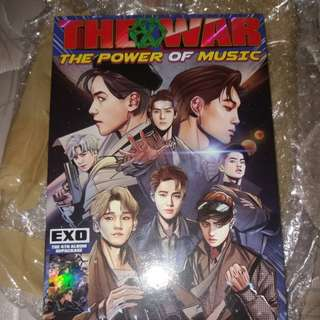 Exo Power Repackaged Album