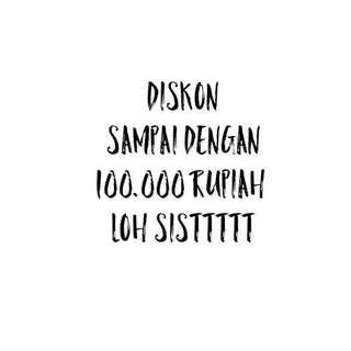 POTONGAN HARGA SAMPAI DENGAN 100.000-AN LOHH