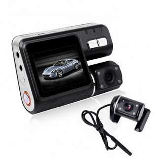 XC2 Full HD Car DVR - 12MP Sensor, FHD Video at 30FPS, G-Sensor, Loop Recording, Ignition Start, 2 Inch Screen (CVAIA-C587)