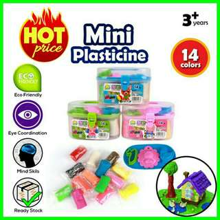 🔥RS🔥Mini 14 Colors Play Doh Plasticine Set