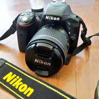 NIKON D3300 (NEGOTIABLE PRICE)