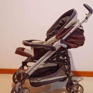 Stroller Dorongan Bayi Anak Peg Perego Pliko P3