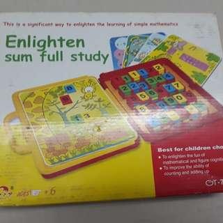 Educational Toy Enlighten sum full study