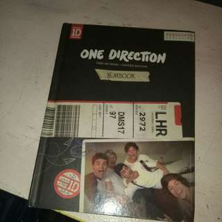 One Direction Yearbook CD not included