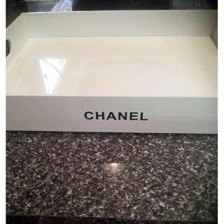 Chanel Vip White Vanity Tray