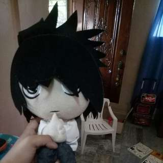 Death Note L plush toy