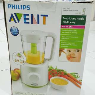 CLEARANCE SALE Philips Avent 2 in 1 Food Processor