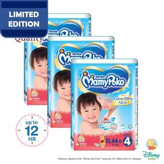 Mamypoko Extra Dry Skin Tape XL44+4 (3 pack)