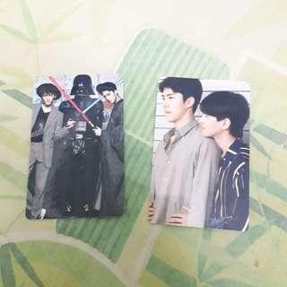 Exo fanmade photocard