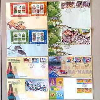 First Day Cover Year 2000