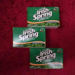Irish Spring Deodorant Soap Original Scent