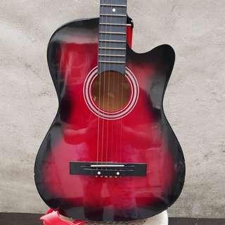 Guitar Kessler Color Red