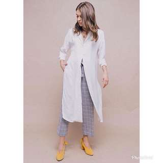 Sol RTW White Long Shirt