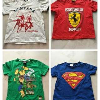 Boy Tshirt 4 in 1 price