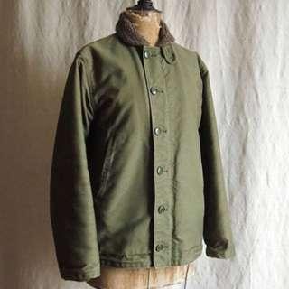 N1 Deck Jacket Vintage A2 G1 USN USMC HBT Buzz RRL McCoy FA