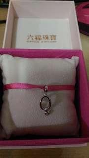 六福珠寶  Dear Q鑽石串飾乙件