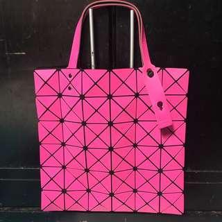 Bao Bao Issey Miyake shoulder bag pink