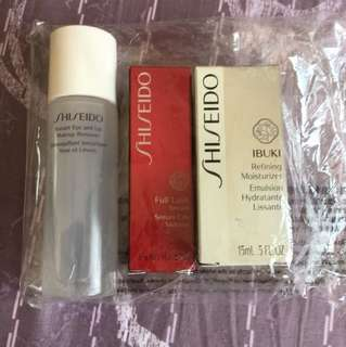 Shiseido make up set