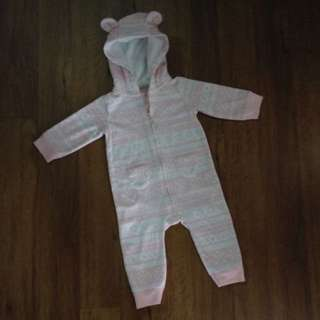 Hooded Sleepsuit (9M)