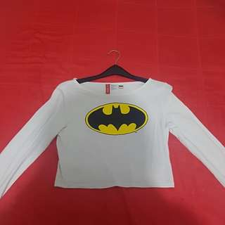 Crop Top Batman
