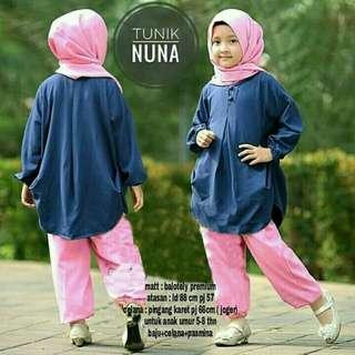 Setelan muslim anak Nuna