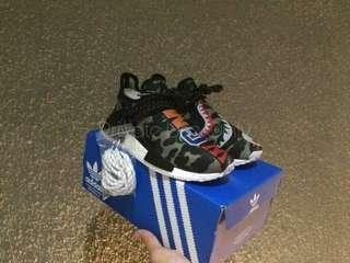 Bape 'Shark WGM' x Pharrell Williams x Adidas NMD Human Race Runner