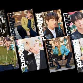 NON PROFIT FAST ORDER BTS BILLBOARD MAGAZINE AND POSTER
