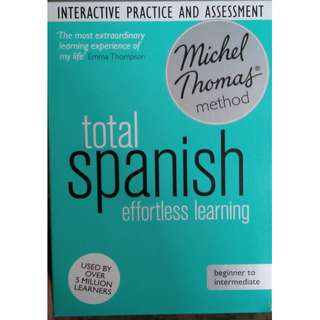 Michel Thomas Total Spanish effortless learning