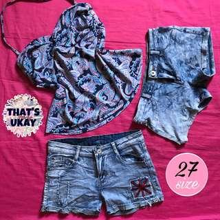 Tankini & Denim shorts pack