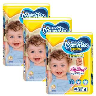 MamyPoko Pants Standard XL40+4 (3 pack)