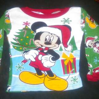 Disney Mickey sleep top