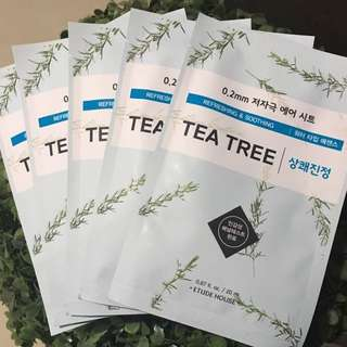 ONHAND!! Etude House Air Mask - Tea Tree