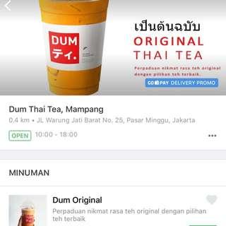 Dum Thai Tea, Mampang