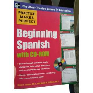 Beginning Spanish Book without CD