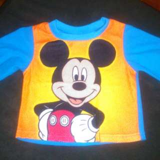 Disney Mickey longsleeves top