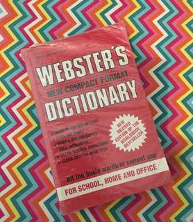 Charity Sale! Webster's New Compact Format Dictionary