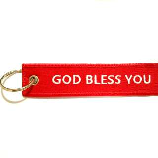 KEY TAG (GOD BLESS YOU)
