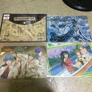 Authentic anime merchandise (minami-ke, blue exorcist, tsubasa, la corda)