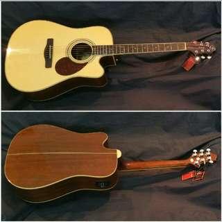 Acoustic Guitar Samick