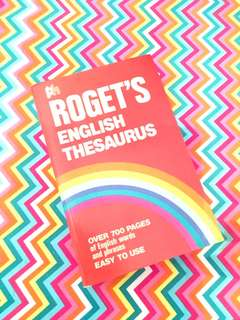 Charity Sale! Roget's English Thesaurus