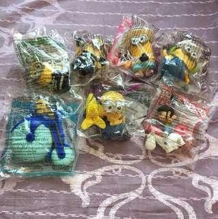 Mc Donald minion 玩具