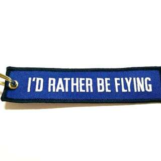 KEY TAG (I'D RATHER BE FLYING)