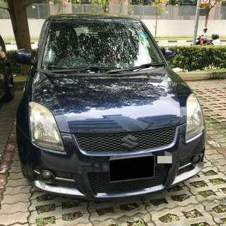Suzuki Swift Sport Manual SG