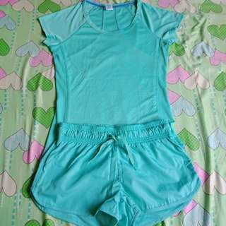 Blouse and Shorts Terno
