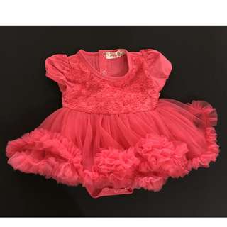 Gown for baby girls 6-9 months