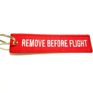 KEY TAG (REMOVE BEFORE FLIGHT)