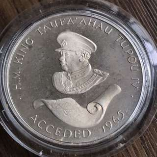 Tonga 1975 Silver Proof Coin