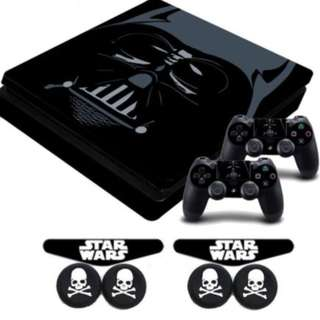 [FREE DELIVERY]  PS4 Playstation 4 Console Controller Star Wars Darth Vader Skin Sticker